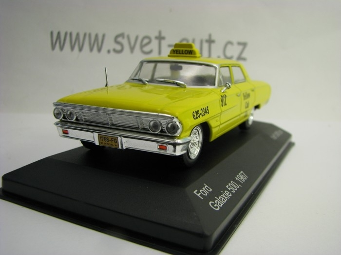 Ford Galaxie 500 Taxi New York 1:43 White Box